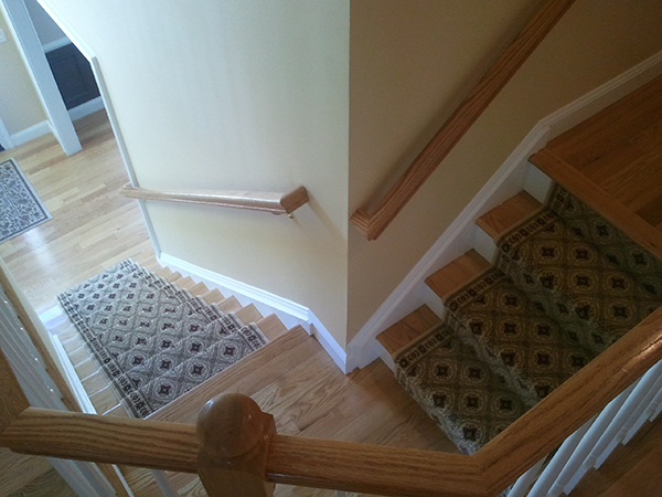 Residential Staircase Carpet