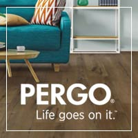 Waterproof for life's wildest occasions, Pergo flooring is truly built for life - stop by to see our selections!